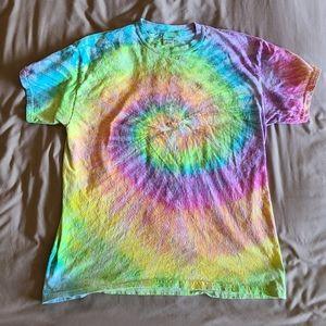 NWOT Unisex Festival Tie-Dye T-Shirt, Large